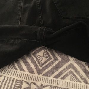 Mossimo Supply Co. Jeans - Purposely Faded Black Jeans -Short - Mossimo